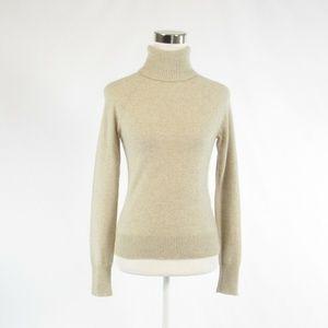 Ann Taylor beige long sleeve sweater S